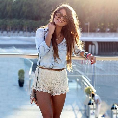 Summer Favouirte Lace Shorts