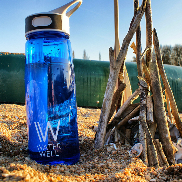 Portable Purifying Water Bottle