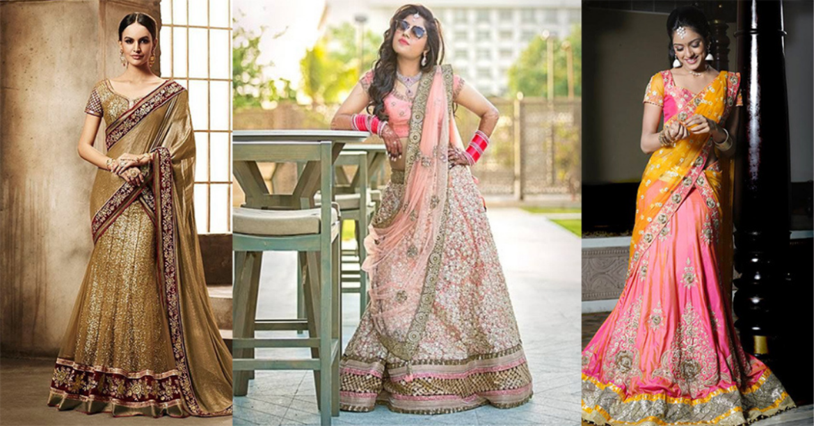 Best Lehenga Saree Designs That Are Steal-Worthy