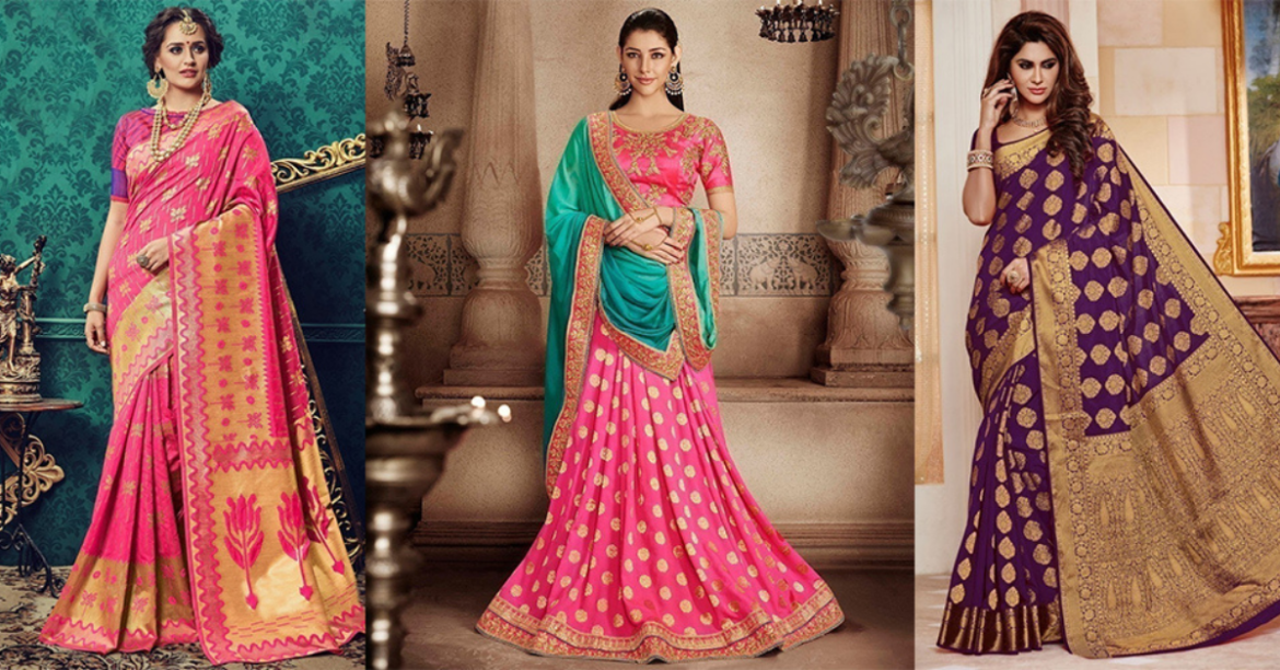 4 Latest sarees to Witness South Indian Wedding