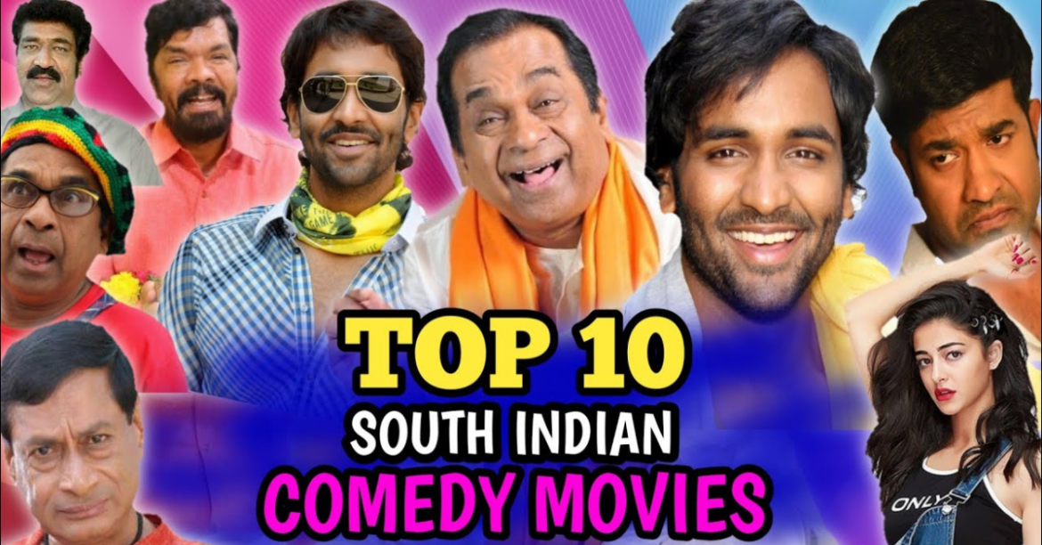 Best Comedy South Indian Movies Dubbed In Hindi