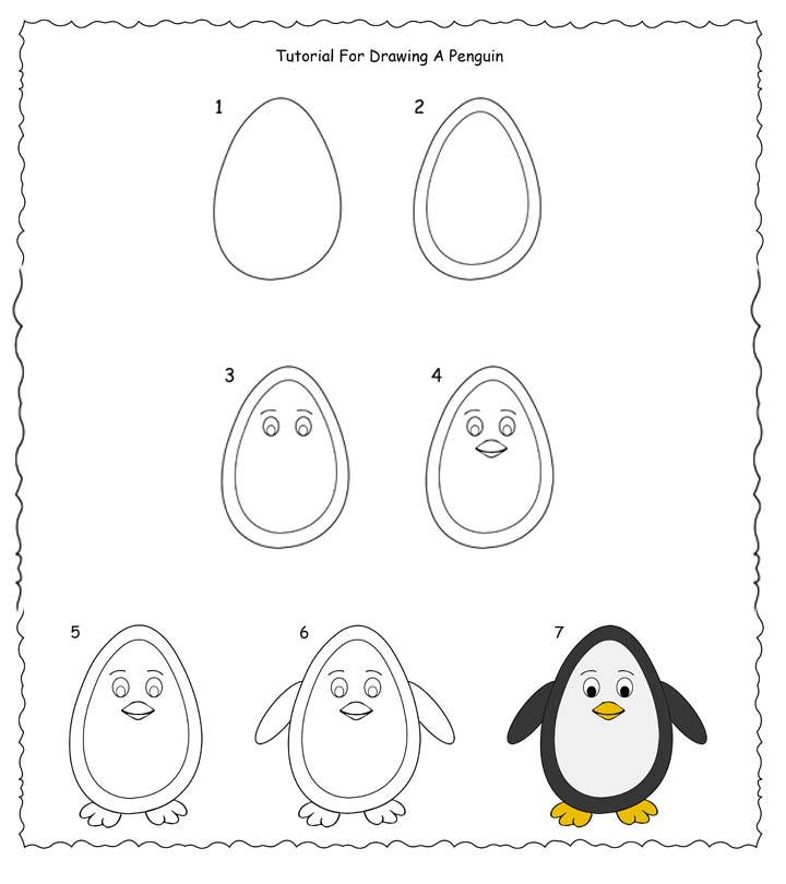 draw simplistic designs first