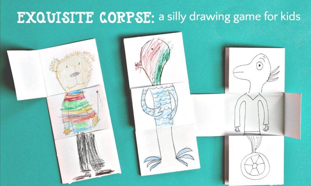 Corpse Drawings: